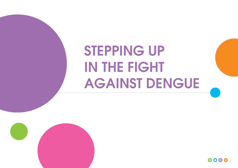 Stepping up in the fight against dengue