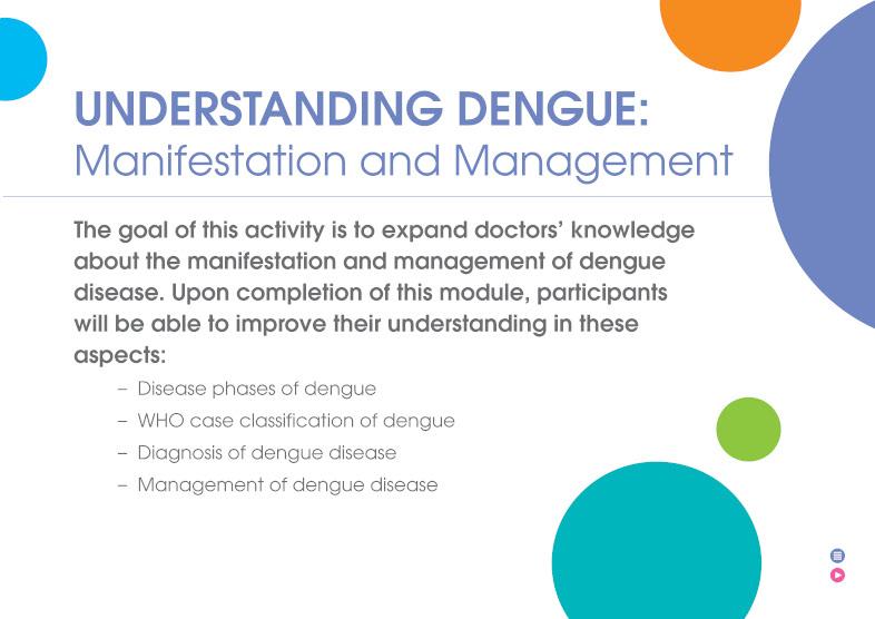 Understanding Dengue: Manifestation and Management