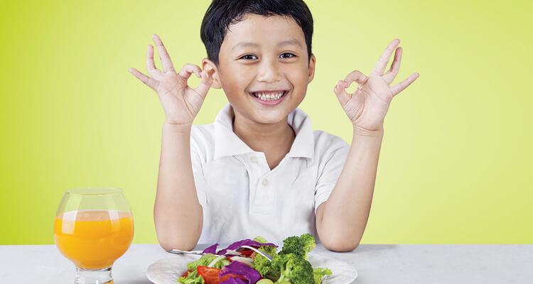 Kesan berkekalan pemakanan sihat dan tabiat makan yang positif